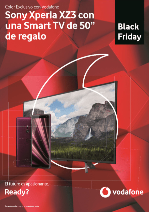 Black Friday en Distribuidor Vodafone